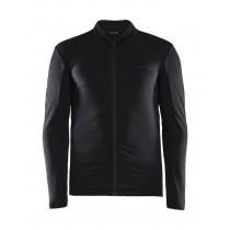 Craft ideal thermal fietsshirt met lange mouwen zwart