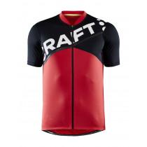 Craft Core Endur Logo Jersey M - Red/Black