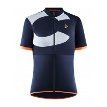 Craft Core Endur Logo Jersey W - Blue/Orange