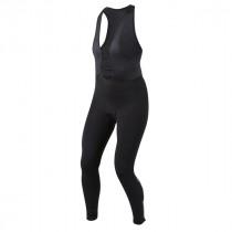 Pearl izumi pursuit thermal dames lange fietsbroek met bretels zwart