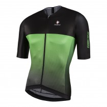 NALINI Black TI Jersey SS Black Green