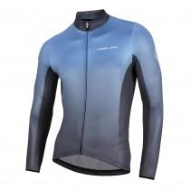Nalini mizar fietsshirt lange mouwen blauw