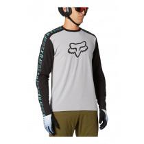 Fox Ranger Dr Ls Jersey - Steel Grey