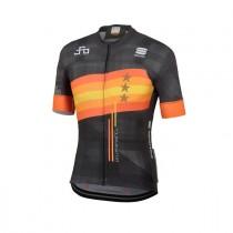 Sportful Sagan stars bodyfit team fietsshirt met korte mouwen groen
