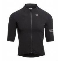 Agu premium woven fietsshirt met korte mouwen zwart