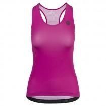 Agu high summer dames fietsshirt zonder mouwen violet roze