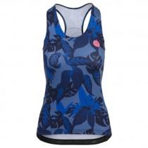 Agu botanic dames fietsshirt zonder mouwen blueberry blauw