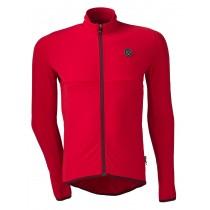 Agu essential thermo fietsshirt lange mouwen rood