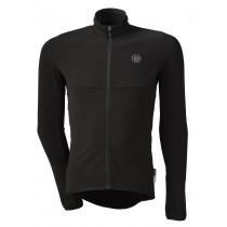 Agu essential thermo fietsshirt lange mouwen zwart