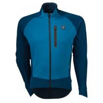 Agu pro winter softshell fietsjack blauw