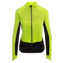 Agu pro wind hivis dames fietsjack fluo geel