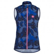 AGU botanic windvest blueberry blauw
