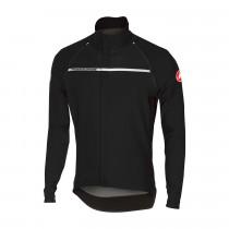 Castelli perfetto convertible fietsjack licht zwart