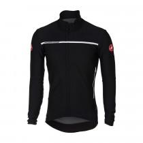 Castelli perfetto fietsshirt lange mouwen licht zwart