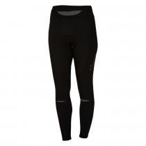 Castelli chic dames lange fietsbroek zwart grijs