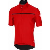 Castelli gabba 3 fietsshirt korte mouwen rood