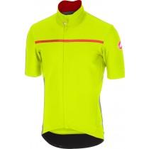 Castelli gabba 3 fietsshirt korte mouwen fluo geel