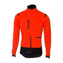 Castelli alpha RoS fietsjack oranje zwart