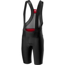Castelli premio 2 korte fietsbroek met bretels zwart