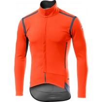 Castelli perfetto RoS fietsshirt met lange mouwen oranje