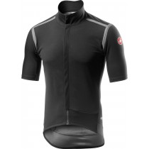 Castelli gabba RoS fietsshirt met korte mouwen licht zwart
