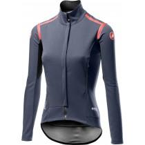 Castelli perfetto RoS dames fietsshirt met lange mouwen donker steel blauw