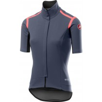 Castelli gabba RoS dames fietsshirt met korte mouwen donker steel blauw