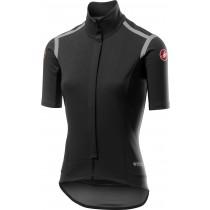 Castelli gabba RoS dames fietsshirt met korte mouwen licht zwart