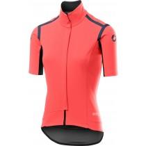 Castelli gabba RoS dames fietsshirt met korte mouwen brilliant roze