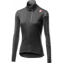 Castelli transition dames fietsjack licht zwart ivory