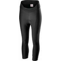 Castelli velocissima dames 3/4 fietsbroek zwart