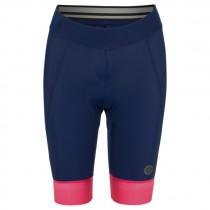 Agu essential prime dames korte fietsbroek blueberry blauw