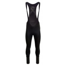 Agu pro winter DWR dames lange fietsbroek met bretels zwart