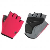 AGU solid essential fietshandschoen neon coral roze