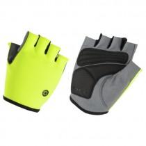 AGU solid essential fietshandschoen fluo geel