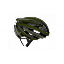 RH+ ZY fietshelm mat military groen olive zwart