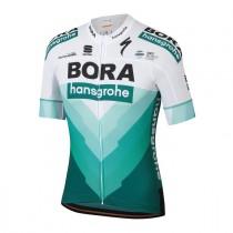 Sportful bora hansgrohe bodyfit team fietsshirt met korte mouwen TdF 2019