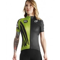 ASSOS Cape Epic XC Evo 7 Lady Jersey SS Python Green