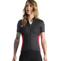ASSOS Lady Jersey SS Rally Trekking Evo 7 Red + NS Skinfoil