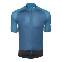 Poc essential road fietsshirt met korte mouwen antimony multi blauw