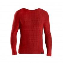 GripGrab freedom seamless thermal ondershirt met lange mouwen rood
