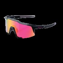 100% Bril Speedcraft Standard Lens Purple Mirror Soft Tact Graphite