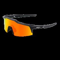 100% Bril Speedcraft Short Lens Hiper Red Mirror Soft Tact Black
