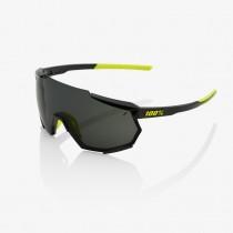 100% Racetrap Fietsbril Gloss Black - Smoke Lens
