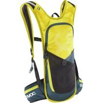 EVOC CC Race Backpack 3L + 2L Reservoir Sulphur Slate