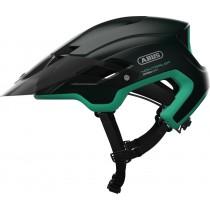 Abus montrailer fietshelm smaragd groen