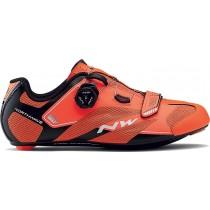 Northwave sonic 2 plus race fietsschoenen oranje zwart