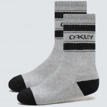 Oakley B1B Icon Socks (3 Pcs) - New Granite Hthr