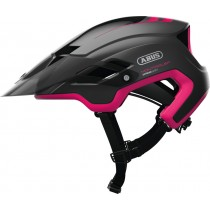 Abus montrailer fietshelm fuchsia roze