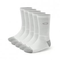 OAKLEY Performance Basic Crew Sock White (5-Pack)